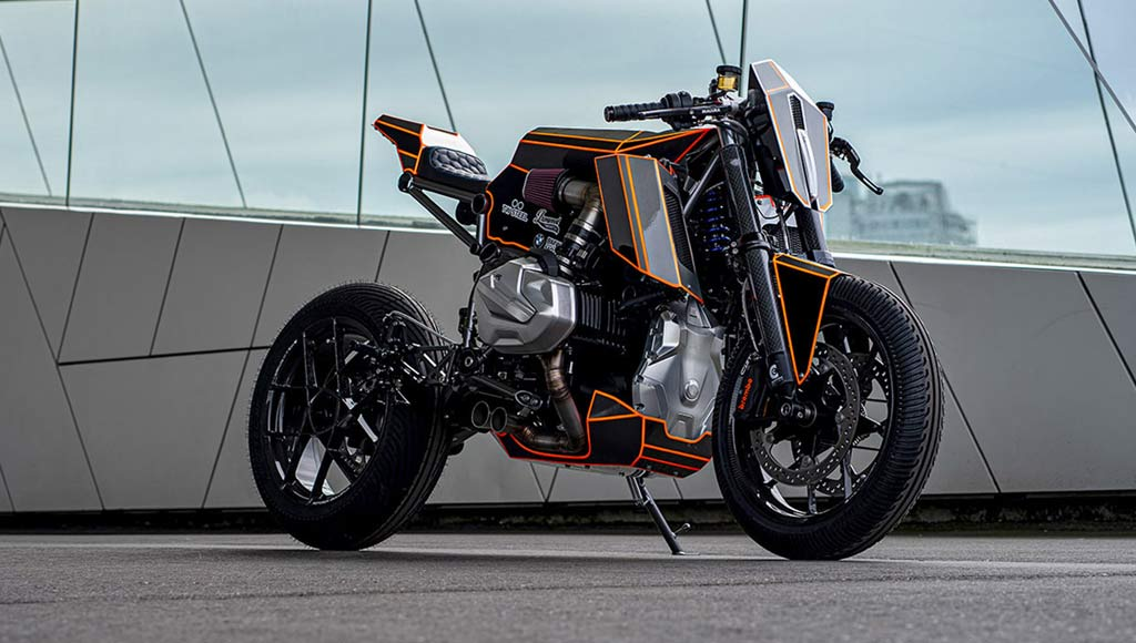 BMW R 1250 GS Dominator de  Ironwood Custom Motorcycle